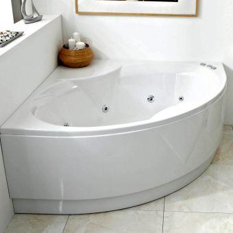 Phoenix Nice Bow Fronted Corner Bath