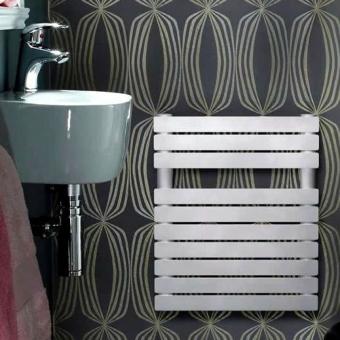 Zehnder Ax Spa 484x400mm Towel Rail (White)