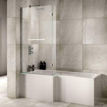 Sommer L Shaped Shower Bath Package