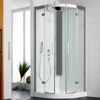 Kinedo Horizon Pivot Door Quadrant Shower Cubicle