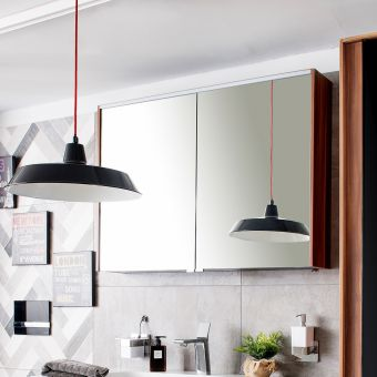 VitrA M-Line Infinit 100cm Mirror Cabinet