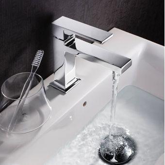 Crosswater Zion Mini Monobloc Basin Mixer Tap
