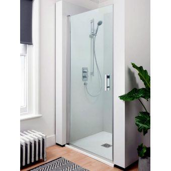 Simpsons Click Hinged Shower Door 900mm