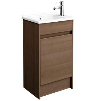 VitrA S50 50cm Floorstanding 1 Door Vanity
