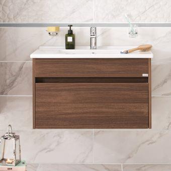 VitrA S50 80cm 1 Drawer Vanity
