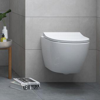 VitrA Sento Rimless Compact Wall Hung Toilet