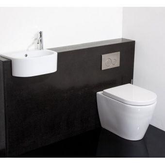 Saneux Uni 460mm Semi-Recessed Washbasin