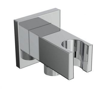 Saneux Tooga Square Shower Outlet and Holder