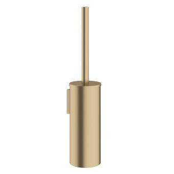 Crosswater MPRO Brushed Brass Toilet Brush