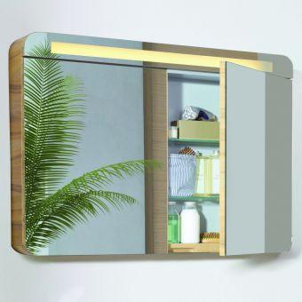 VitrA Nest 2 Door 100cm Mirror Cabinet