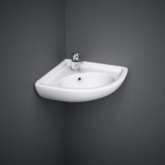 RAK Compact Corner Cloakroom Wash Basin