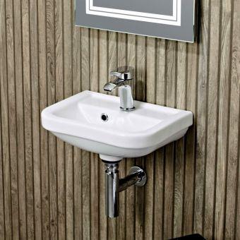 Tavistock Node Wall Hung Cloakroom Basin - DC14007