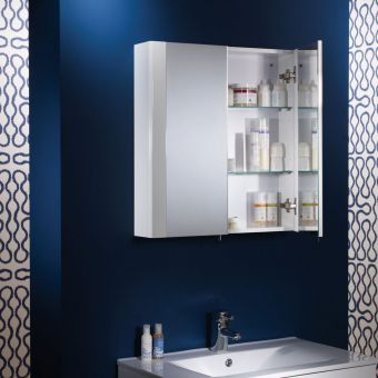 Tavistock Detail Mirror Cabinet