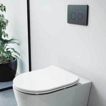 Saneux Flushe 2.0 Round Button Flush Plate