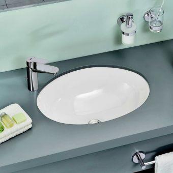 CHK Grohe Euro Ceramic Undercounter Washbasin