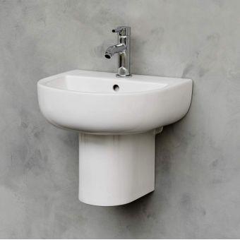 Britton Compact Cloakroom Basin
