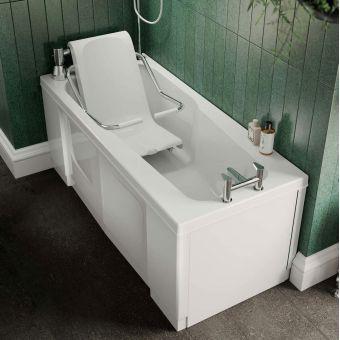 Trojan Bathe Easy Powered Seat Assisted Bath