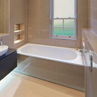 Trojan Cascade Double Ended Bath