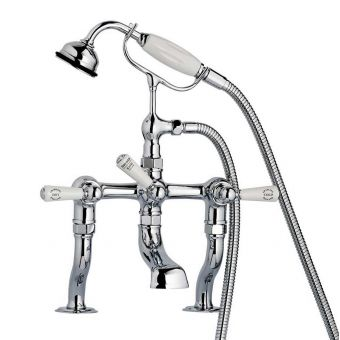 Swadling Invincible Deck Mounted Manual Bath Shower Mixer Tap