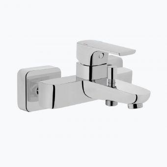 VitrA Sento Wall-Mounted Chrome Bath Shower Mixer Tap