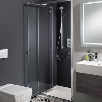 Crosswater Edge Infold Shower Door