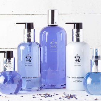 H2K Lavender and Sandalwood Hand Care Gift Set 250ml