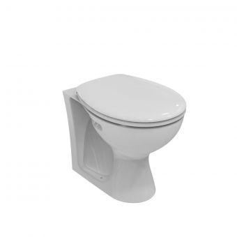 Armitage Shanks Sandringham 21 530mm Back-To-Wall WC Pan, Horizonal Outlet