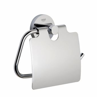 Grohe Essentials Covered Toilet Roll Holder - 40367001