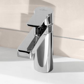 Villeroy and Boch Just Short Projection Basin Mixer Tap