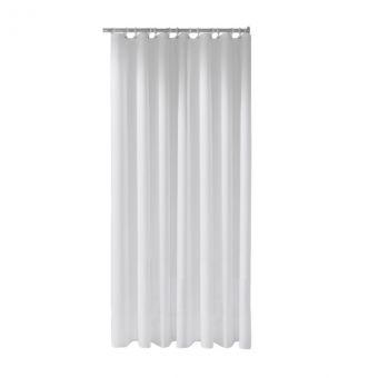 Keuco Plan Care Maxxi White Shower Curtain