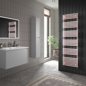 Origins TT Lux Blush Pink Designer Towel Radiator
