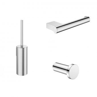 Crosswater MPRO Chrome Bathroom Accessory Pack - PROPACKCHROME