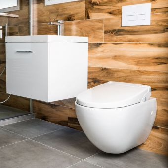 Lavalino Bidet Toilet Seat Attachment with LED Light