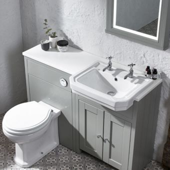 Tavistock 600 Lansdown WC Back to Wall Unit