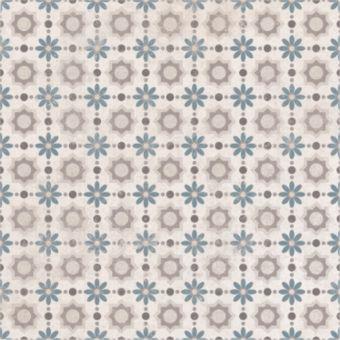 Origins Vintage Daisy Tile 22.3 x 22.3cm