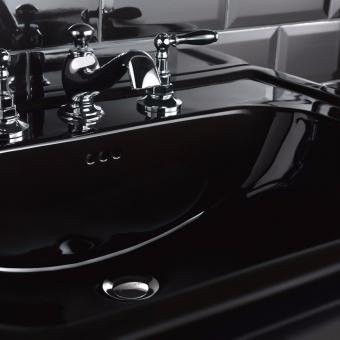 Imperial Black Sapphire Bathroom