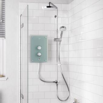 Mira Azora Dual Glass Electric Shower