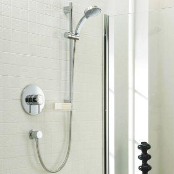 Mira Element Thermostatic Shower Kit (BIV) - 1.1656.012