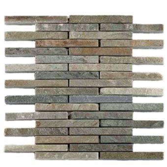 Abacus Natural Stone Pencil Tile 30.5 x 30.5cm