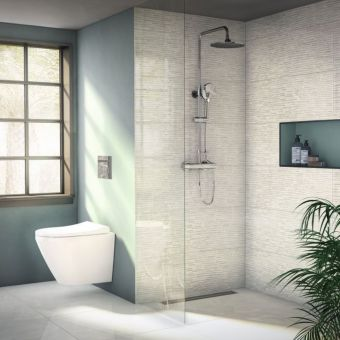VitrA Aquaheat Joy 200 Thermostatic Shower Column