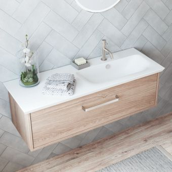 Crosswater Arena 1000mm Wall-hung Vanity Unit in Four Colours