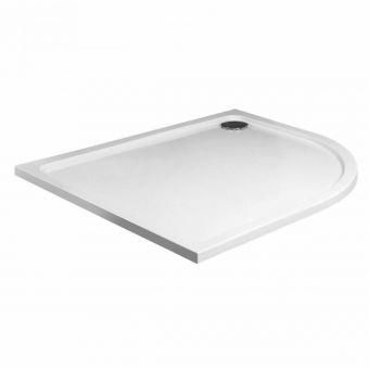 UK Bathrooms Essentials Quadrant Shower Tray - HW90