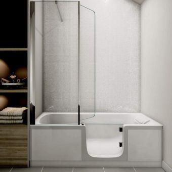 Kinedo Kineduo Walk-in Recessed Shower Bath Package - OPKSGKD400