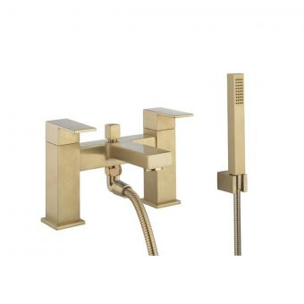 Crosswater Verge Bath Shower Mixer in Brushed Brass