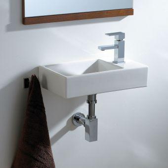 Phoenix Qube Compact Offset Washbasin
