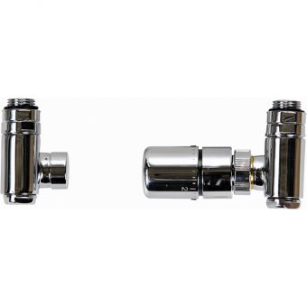 JIS Dual Fuel Radiator Valves with TRV - VWDFTRV