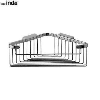 Inda Hotellerie Corner Soap Basket 22 x 9h x 22cm