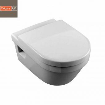 Origins Curve Wall Hung Toilet - UKBV-SW20-0505
