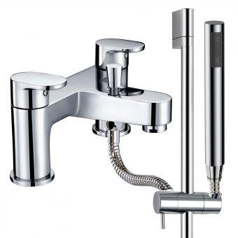 Phoenix Jina Bath Shower MIxer with Handrail and Handset