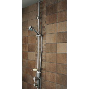 Bristan Prism Twinline Ceiling Fed Thermostatic Shower - PM TLSHX C